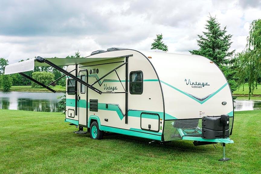 modern vintage trailer