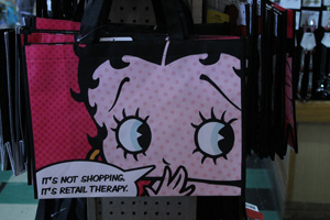 Betty Book shopping bag, Dick's 5 & 10