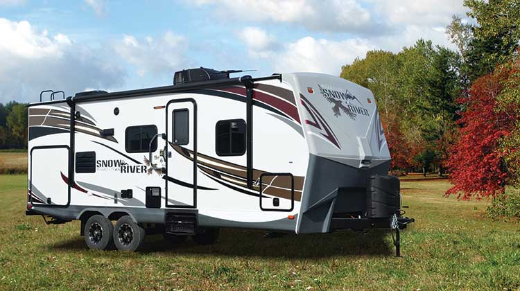 Northwood-Snow-River travel trailer