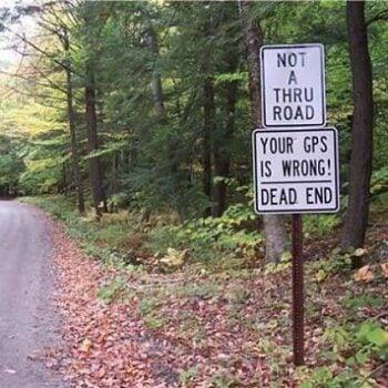 RV GPS safety