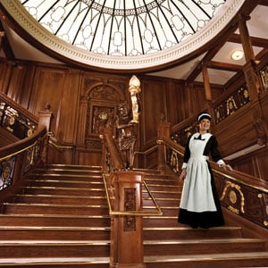 A Maid on the Grand Staircase