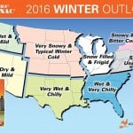 Experts Predict Chilly, Wet RV Snowbird Winter Weather