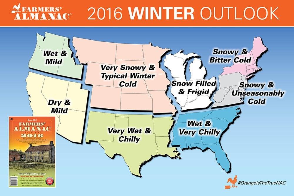 RV snowbird winter weather