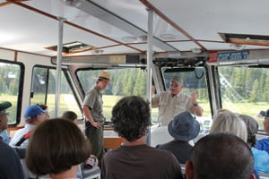 Aboard the Lake Queen
