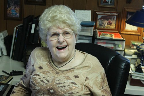 Arline With Her New Hair
