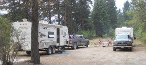 The Campsite We Found On The Way To Big Pine
