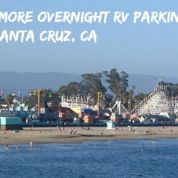 Santa Cruz overnight RV parking