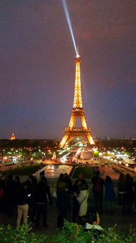 The Eifel Tower at night - Copy
