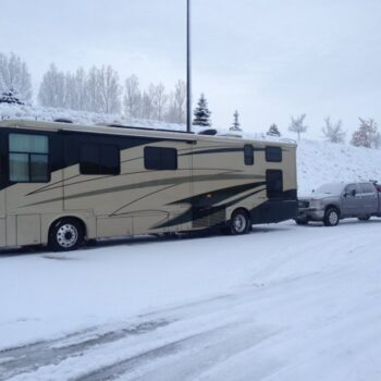 winter RV travel