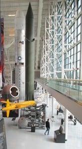 Titan II SLV missile