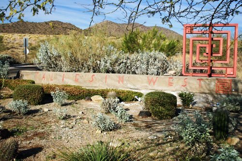Taliesin West Entrance
