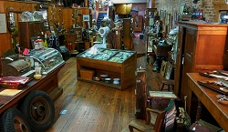 An antique store in Pendleton.