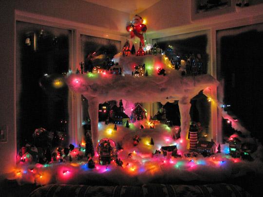 A Minshall Christmas Village