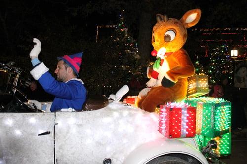 Rudolph in Christmas Parade SDC