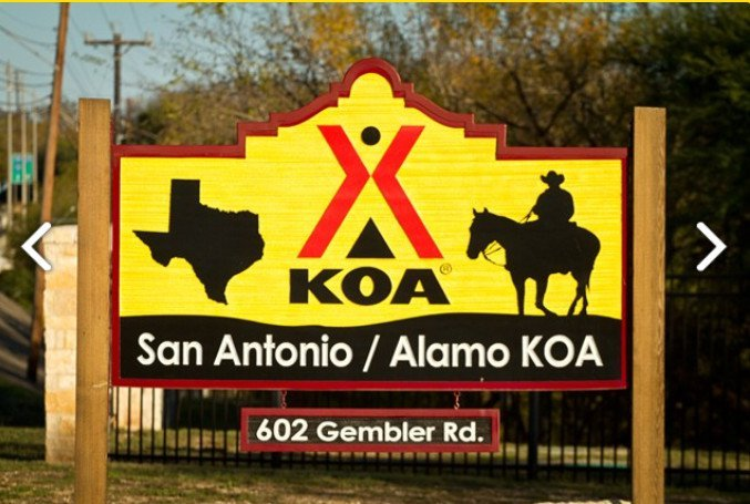 San Antonio Texas KOA Reviews