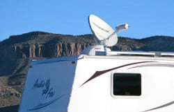 mobile satellite Internet for RVers