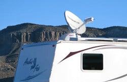 mobile satellite Internet for RVers