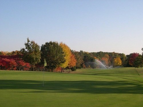 Fairfield Hills Golf Course in the fall