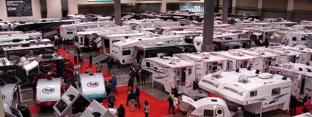 All Types of RVs on Display