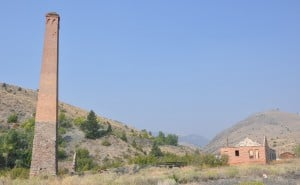 Remains of the smelter