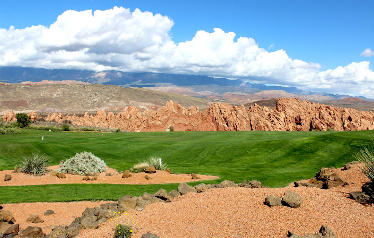 Sky Mountain Golf Course. This city-owned public course features 18 holes of golf in one of the most scenic areas in the country.