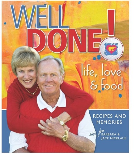The Nicklaus' new cook book