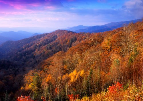 The park was established in 1934 and has evolved into the most visited National Park in the United States. Photo courtesy of Bill Russ - VisitNC