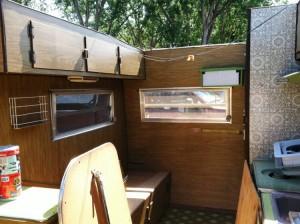 vintage trailer restoration project