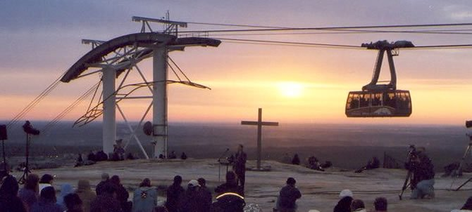 Sunrise Service Atop Stone Mountain