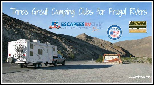 camping clubs for RVers