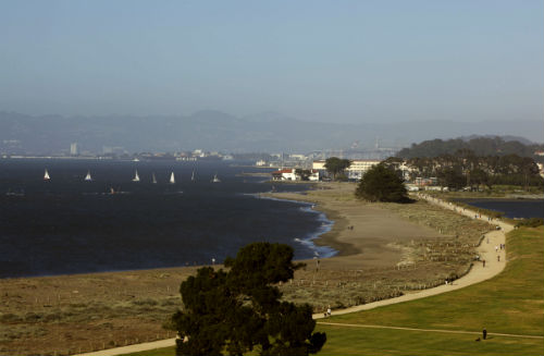 Golden Gate National Recreation Area is considered one of the largest urban parks in the world.