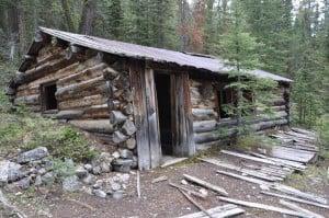 Cabin at the Monte Cristo Mine