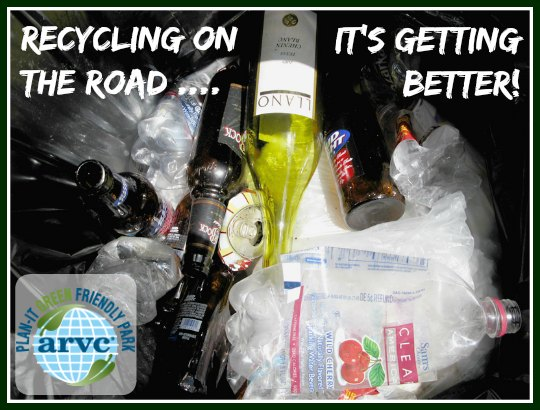 Rv Park Recycling Is Getting Easier On The Road Rv Life