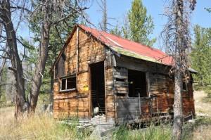 Keystone Mine cabin