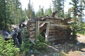 Cabin at the Old Faithful Mine