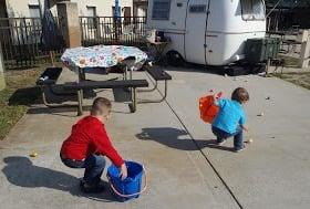 Many Parks offer Easter Egg hunts as well.