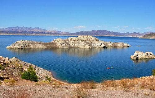 Lake Mead is operated by the National Park Service and spans approximately 1.5 million acres, which is approximately twice the size of Rhode Island. Photo courtesy of Chris Moran - Travel Nevada