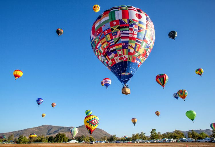 Temecula Balloon and Wine Fest
