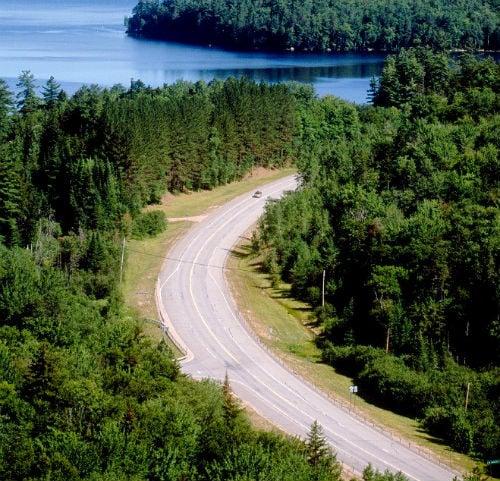 scenic drives adirondack_trail