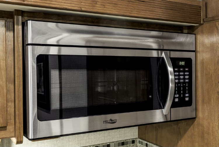 A Microwave Convection Oven Found In The Winnebago Sunova Photo Courtesy Industries