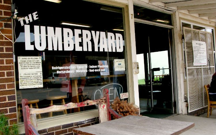 This old Lumberyard now hosts big name entertainment.