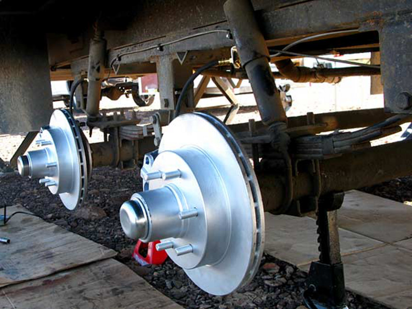 Electric Over Hydraulic Trailer Disc Brake Conversion
