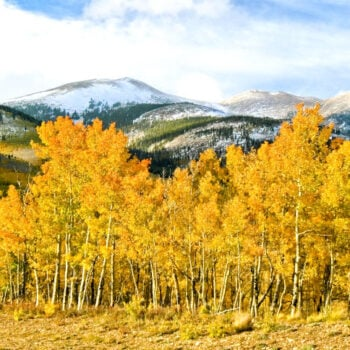 great fall destinations for RVers