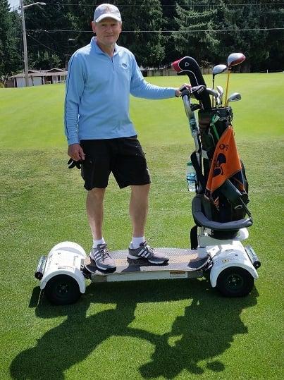 Golf boarding