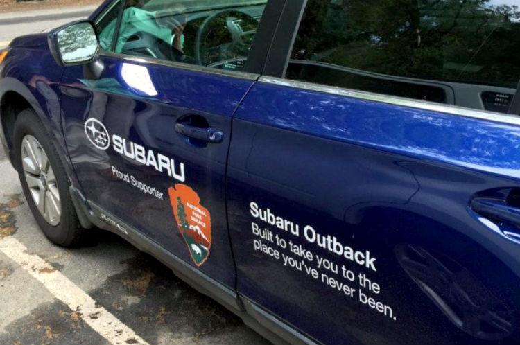 national park service fund-raising