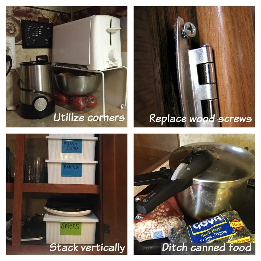 RV organizing tips