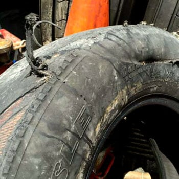RV tire blowout disaster
