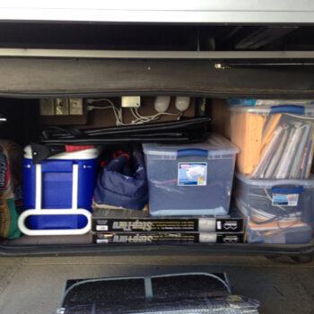 full-time RV packing