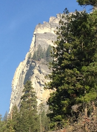Blodgett Canyon's Version of El Capitan