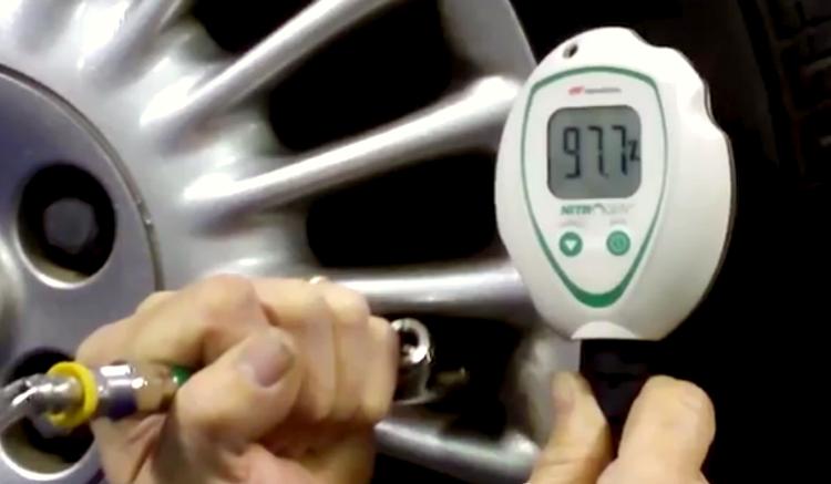 Nitrogen-Filled Tires